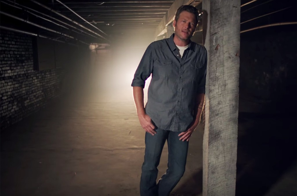 "Blake Shelton in the video for ""She's Got A Way With Words."""