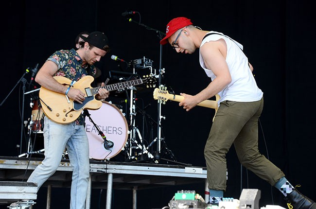 Bleachers live at Firefly 2014