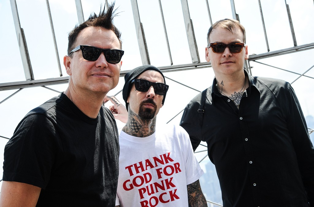 Blink-182 visit at The Empire State Building