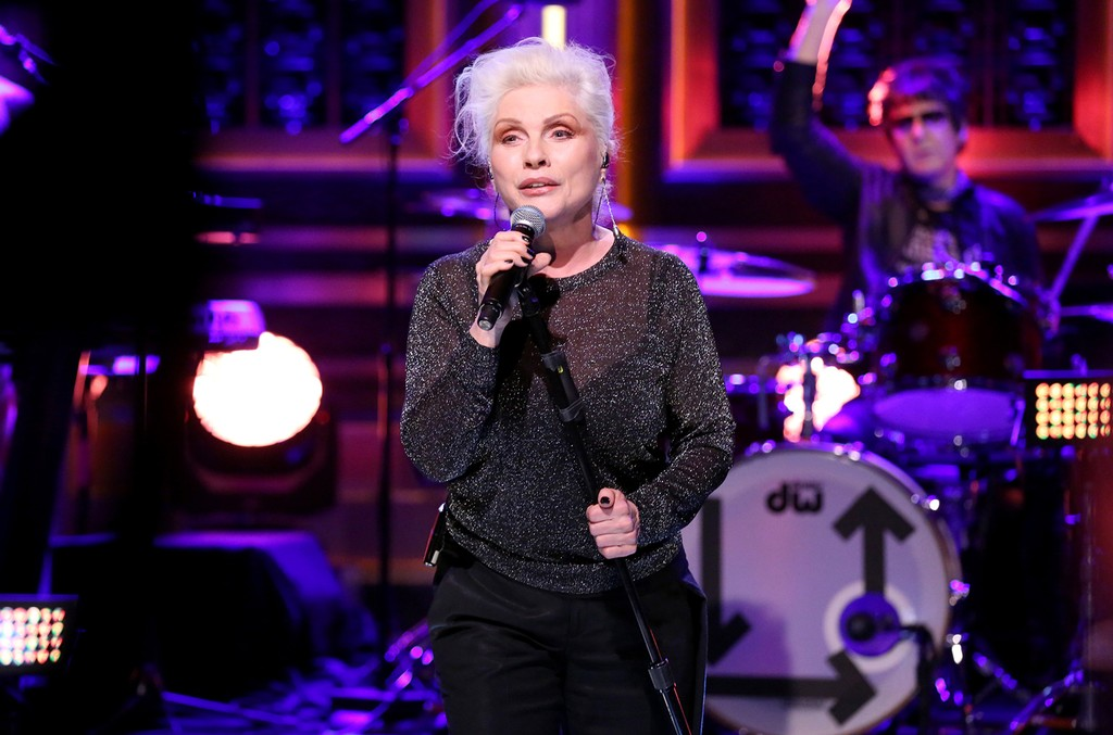 Blondie perform on The Tonight Show Starring Jimmy Fallon on May 9, 2017.