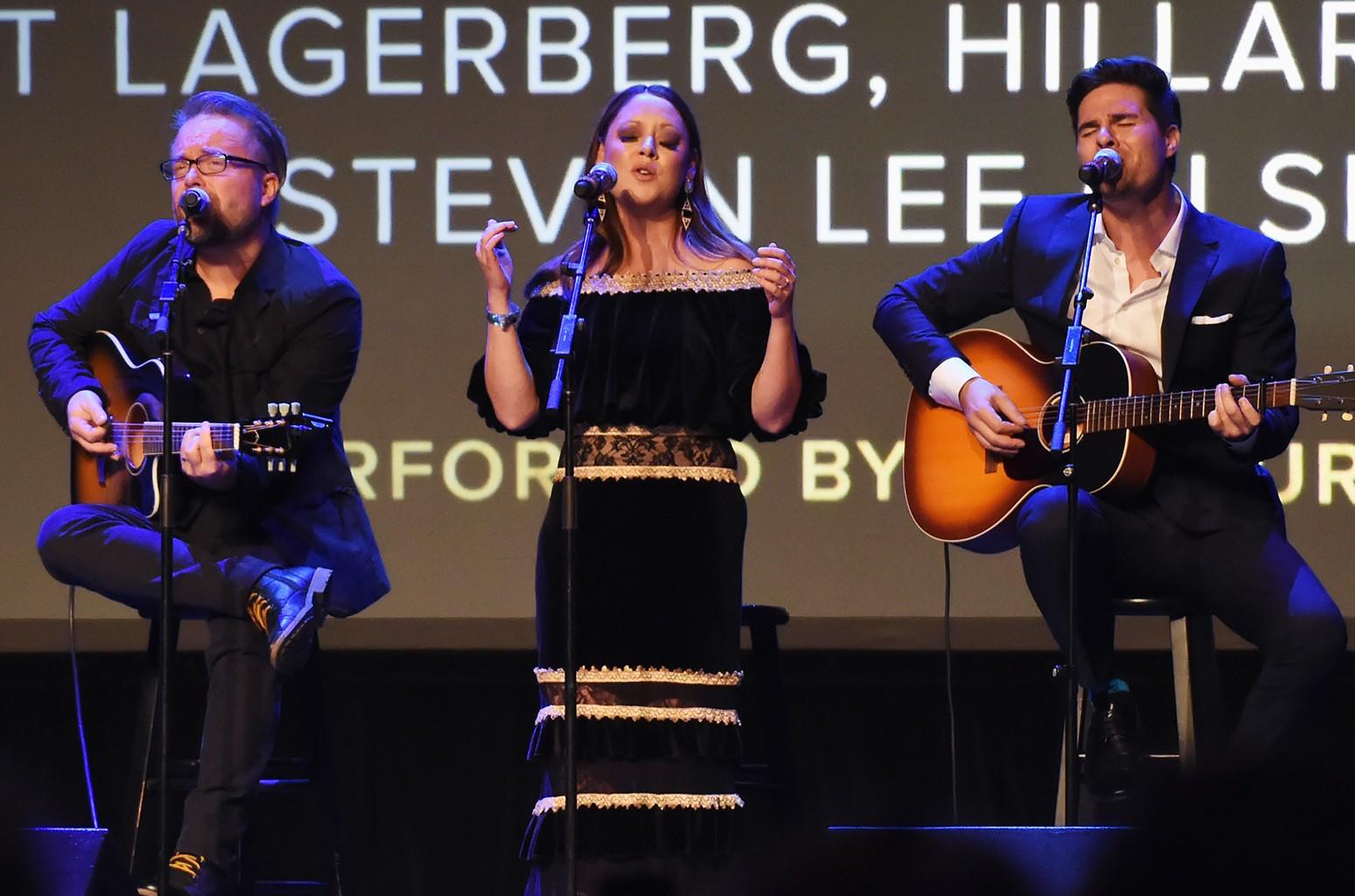 Clint Lagerberg, Hillary Lindsey & Steven Lee Olsen, 2017