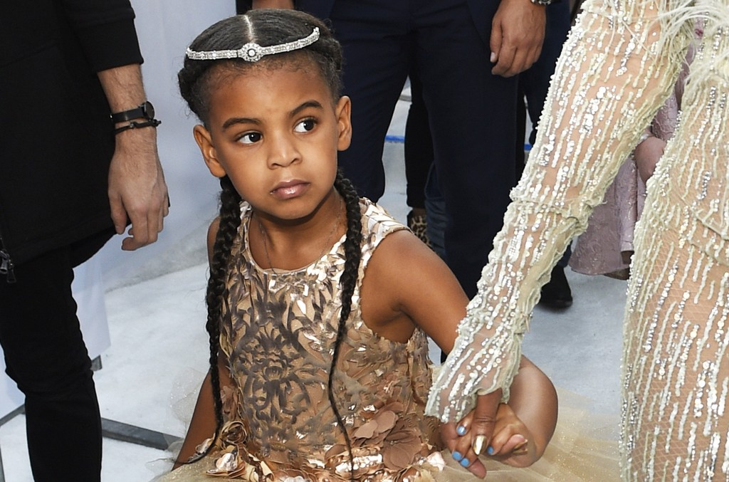 Blue Ivy at the MTV Video Music Awards at Madison Square Garden on Aug. 28, 2016 in New York City.
