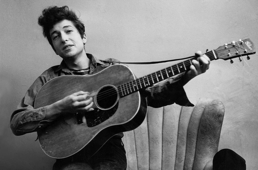 Bob Dylan in 1961