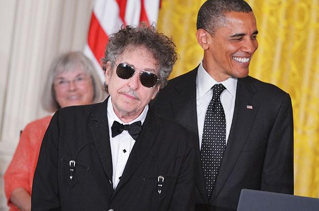 Barack Obama and Bob Dylan