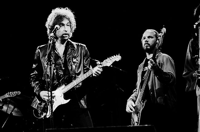 Bob Dylan and Tim Drummond