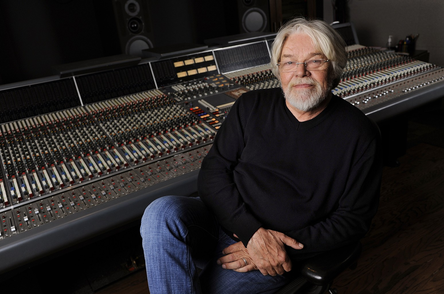 Bob Seger photographed in a Capitol Records studio on Oct. 16, 2014 in Los Angeles.