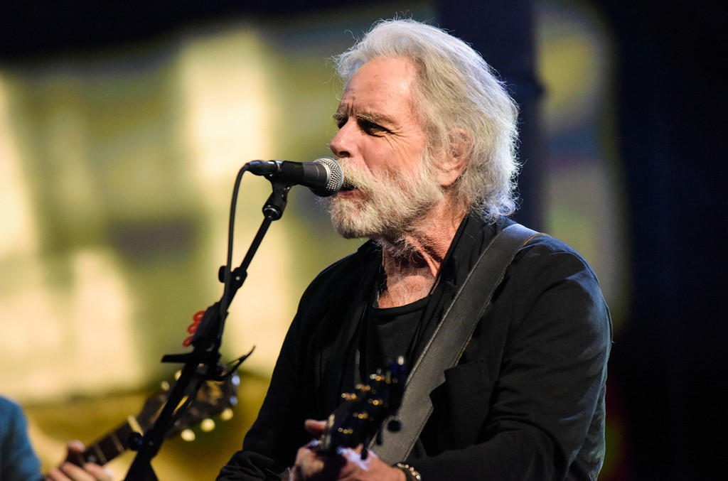 Bob Weir performs in New York City on Oct. 17, 2016.