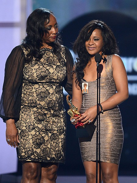 Pat Houston and Bobbi Kristina Houston-Brown