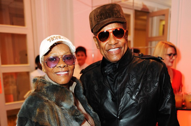 Dionne Warwick and Bobby Womack
