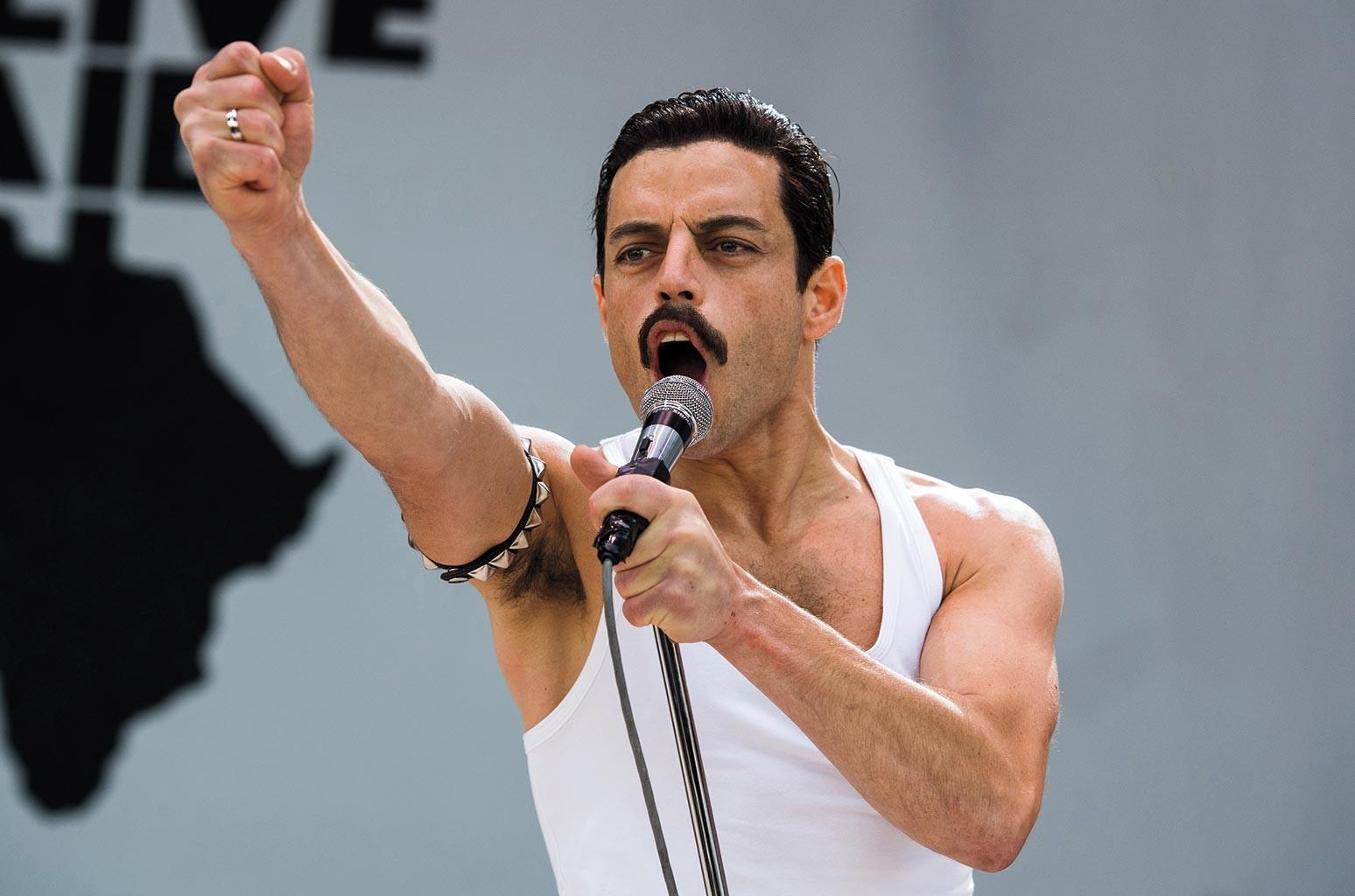 Rami Malek stars as Freddie Mercury