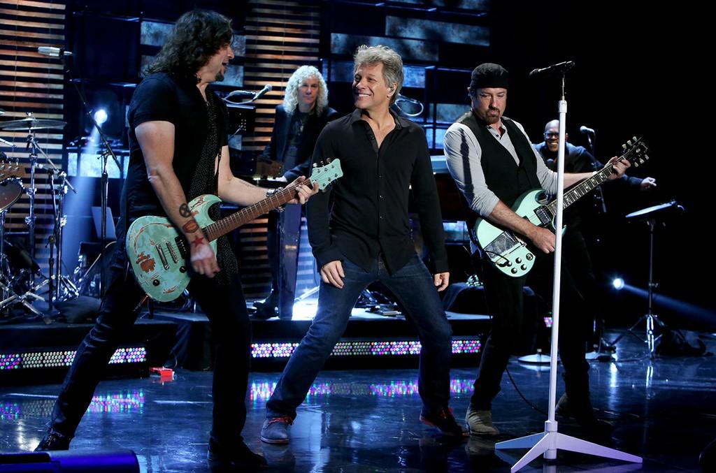 Jon Bon Jovi on The Ellen DeGeneres Show on October 5, 2016.