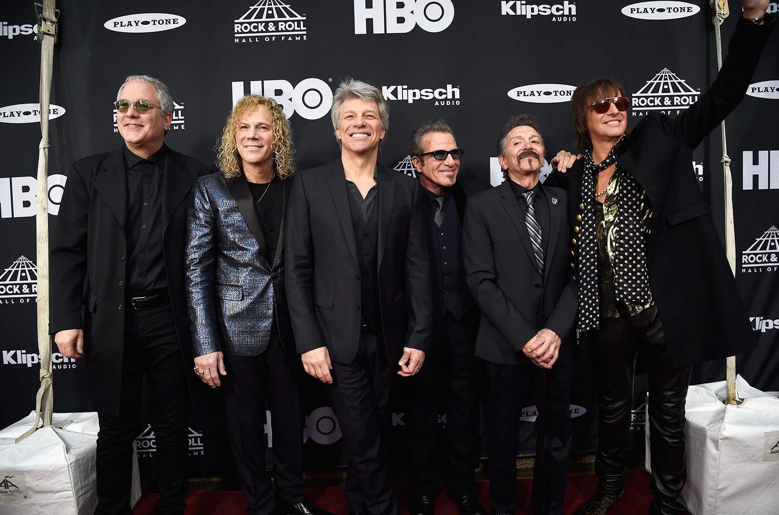 Bon Jovi Rock Hall of Fame