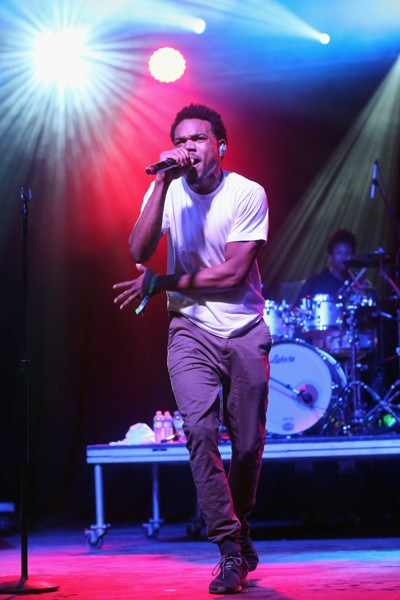 Chance the Rapper at Bonnaroo 2014