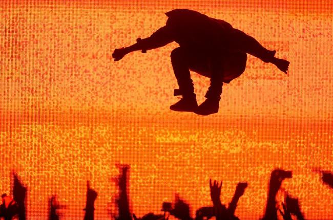 Kanye West at Bonnaroo 2014