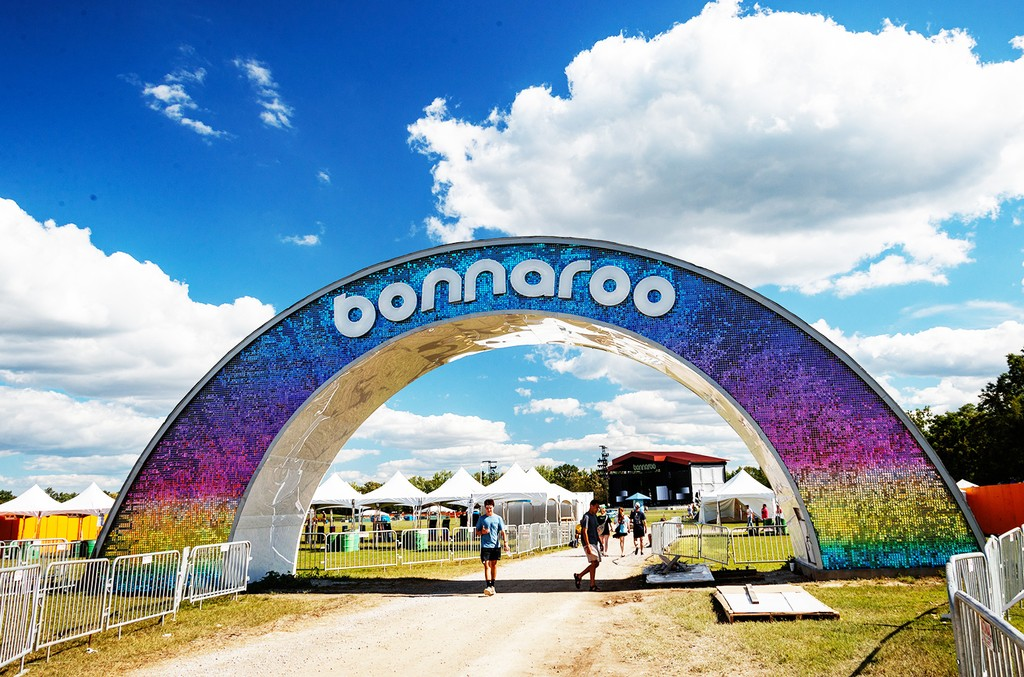 The Bonnaroo Arch at the Bonnaroo Music and Arts Festival 2017 on June 8, 2017 in Manchester, Tenn.
