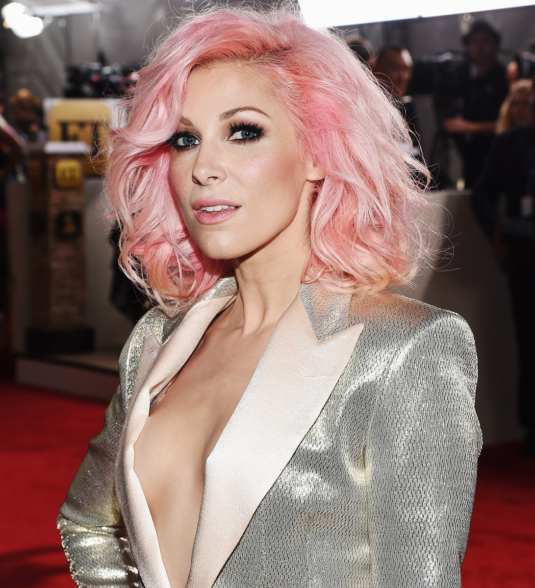 Bonnie McKee attends the 58th Grammy Awards at Staples Center on Feb. 15, 2016 in Los Angeles.