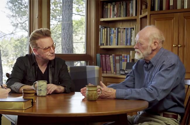 Bono Eugene Peterson the psalms 2016