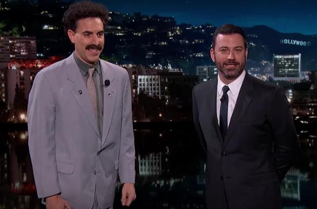 Borat Jimmy Kimmel Live