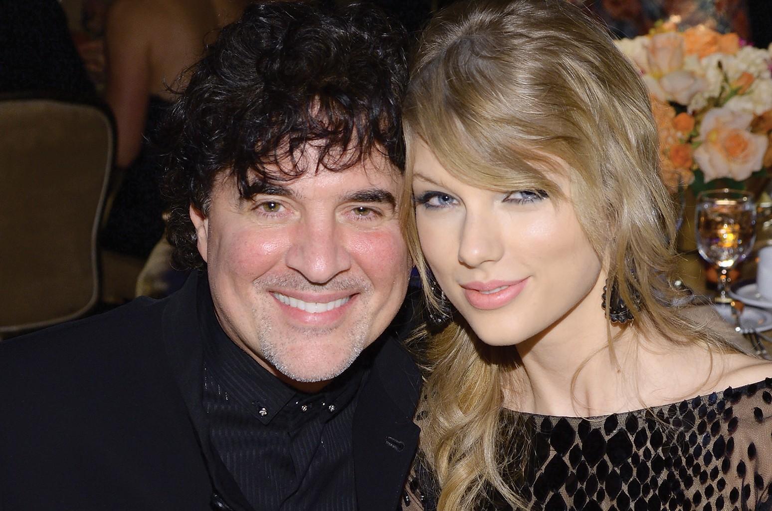 Scott Borchetta and Taylor Swift