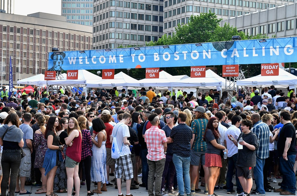 Boston Calling Festival in 2016