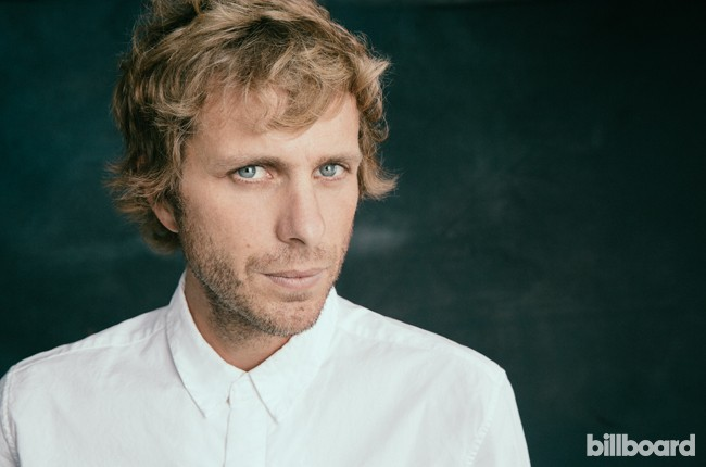Aaron Bruno of AWOLNATION photographed backstage at the 2015 BottleRock Napa Valley Music Festival