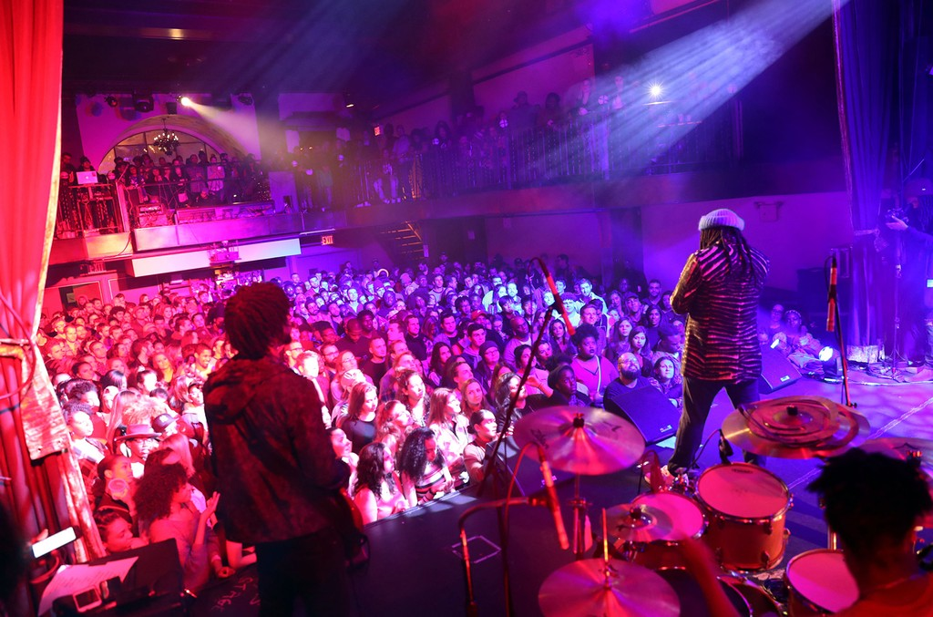 D.R.A.M. performs at Bowery Ballroom on Jan. 21, 2017 in New York City.