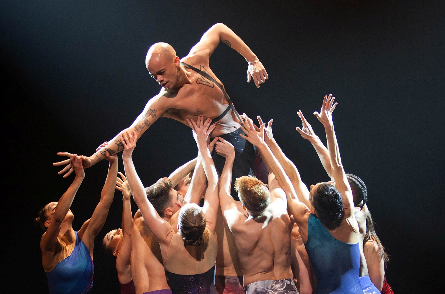 Star Dust performed at Joyce Theater in New York City.