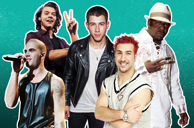 The 2015 Boy Band Fantasy Draft featuring Harry Styles, Max George, Nick Jonas, Joey Fatone, Bobby Brown and more!