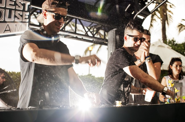 Boys Noize performs at Red Bull Guest House in Miami