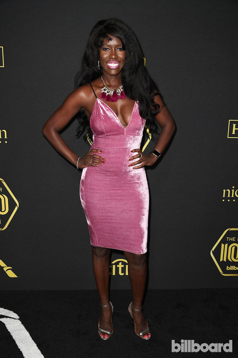 Bozoma Saint John attends Billboard Power 100 - Red Carpet at Cecconi's on Feb. 9, 2017 in West Hollywood, Calif.