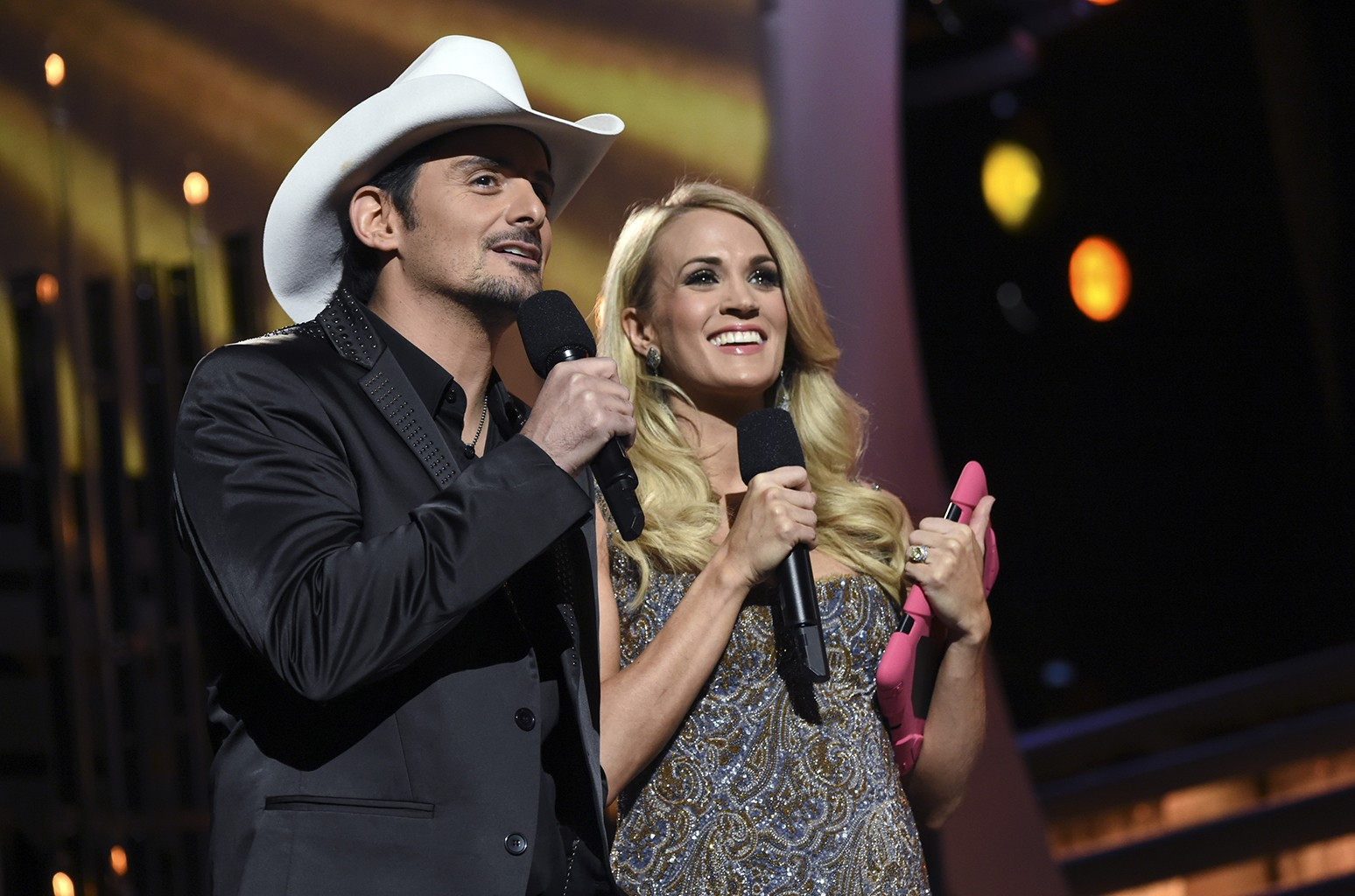 Brad Paisley and Carrie Underwood host the CMA Awards