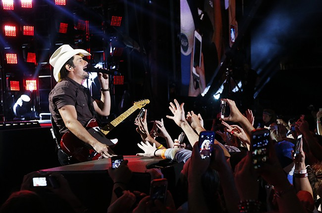 Brad Paisley performs at the 2014 CMA Music Festival