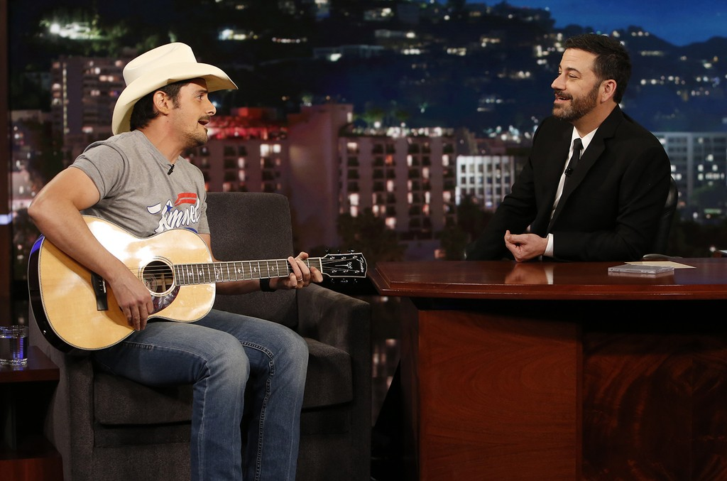 Brad Paisley on Jimmy Kimmel Live