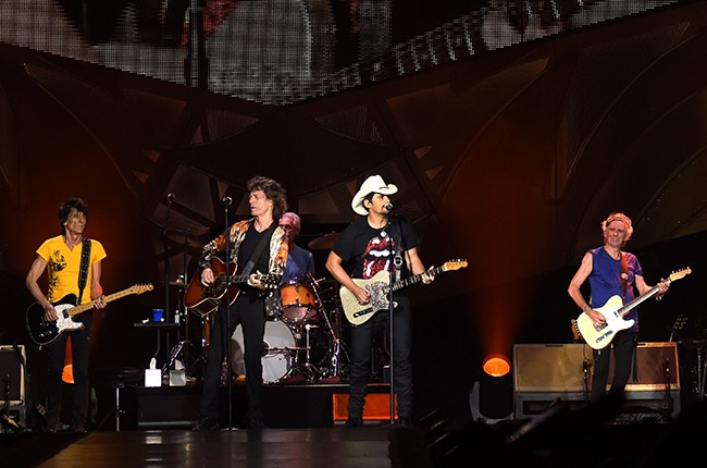 Brad Paisley and the Rolling Stones