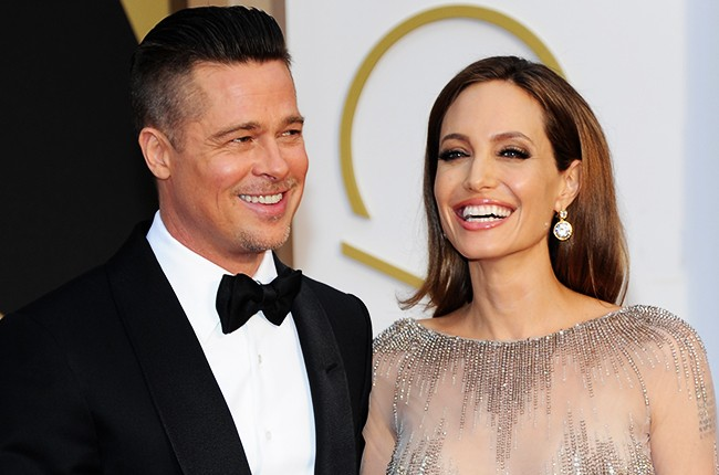 Brad Pitt and Angelina Jolie, 2014