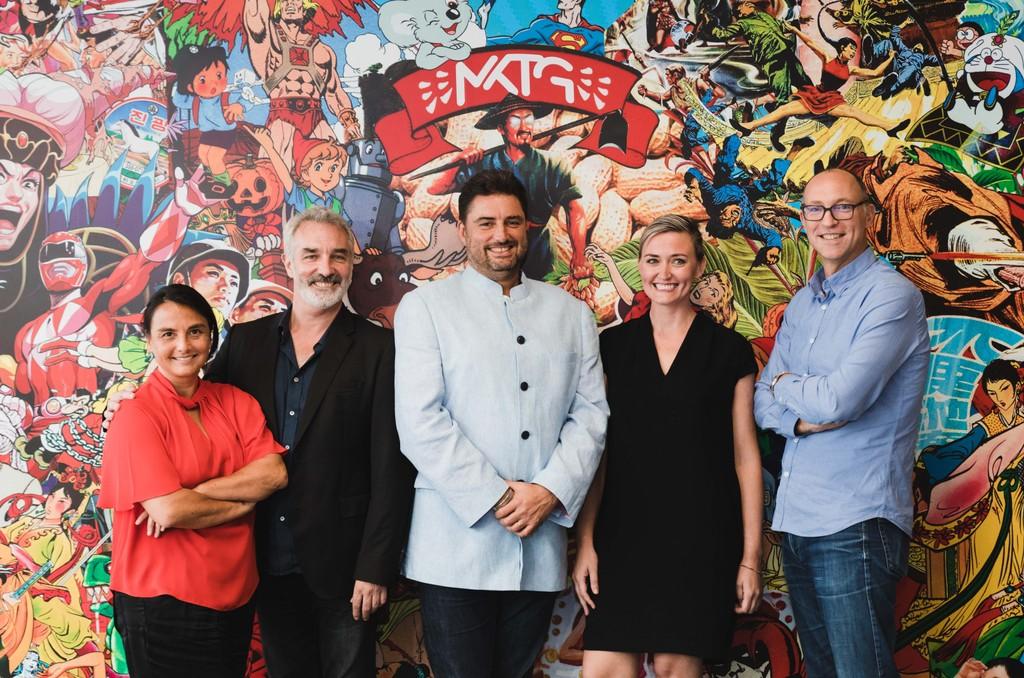 The Branded team (L-R) Emma Fung, Sean O'Brien, Jasper Donat, Cat Lyon, Nick Waters