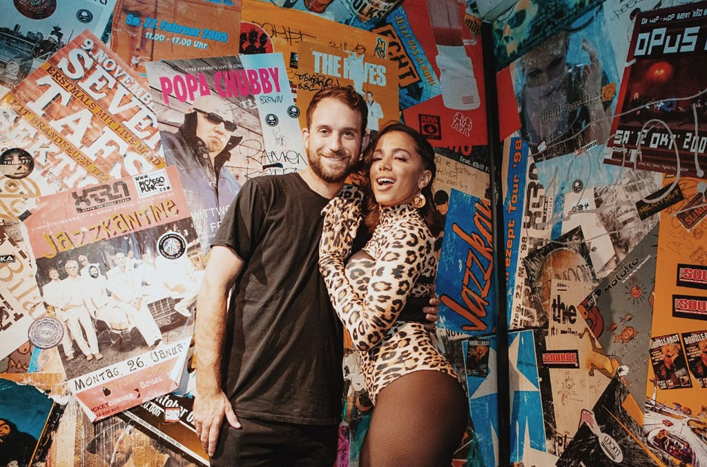 Brandon Silverstein (Founder of S10) and Anitta