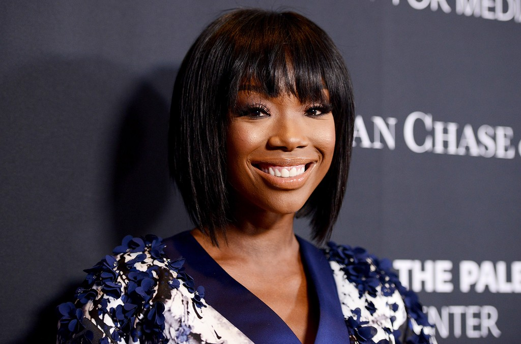 Brandy Norwood attends the Paley Center For Media's Hollywood Tribute To African-American Achievements in Television, Presented by JPMorgan & Co. on Oct. 26, 2015 in Los Angeles.