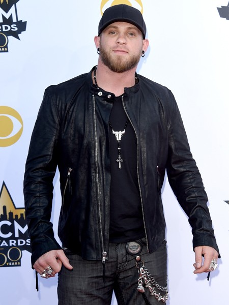 Brantley Gilbert attends the 50th Academy Of Country Music Awards