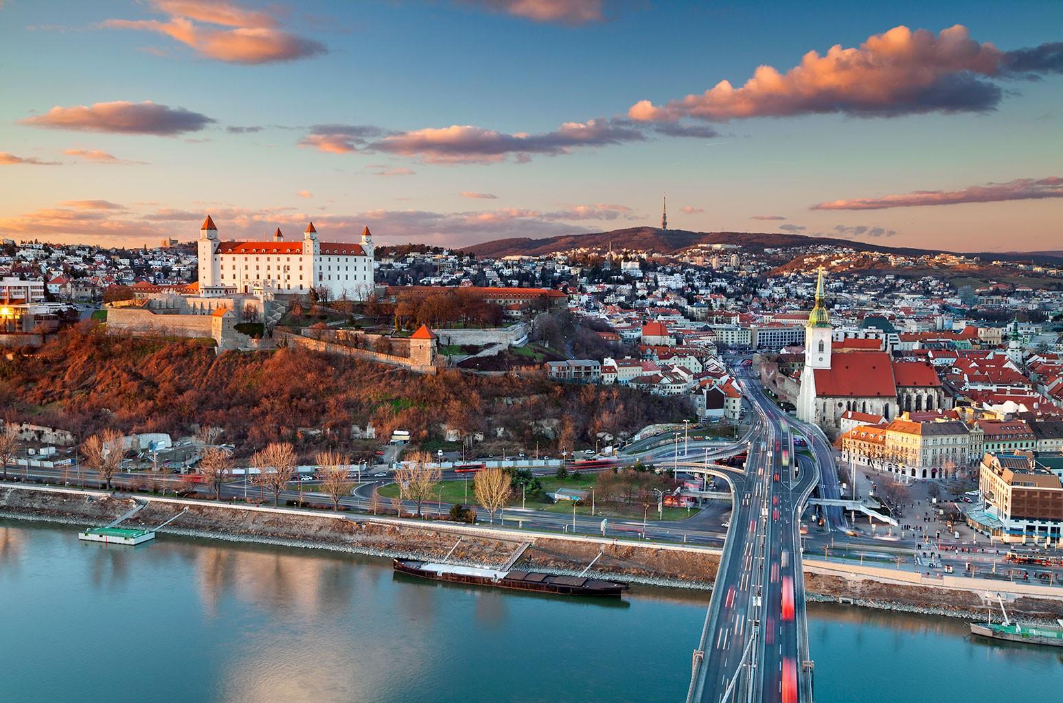 Bratislava, the capital city of Slovakia.