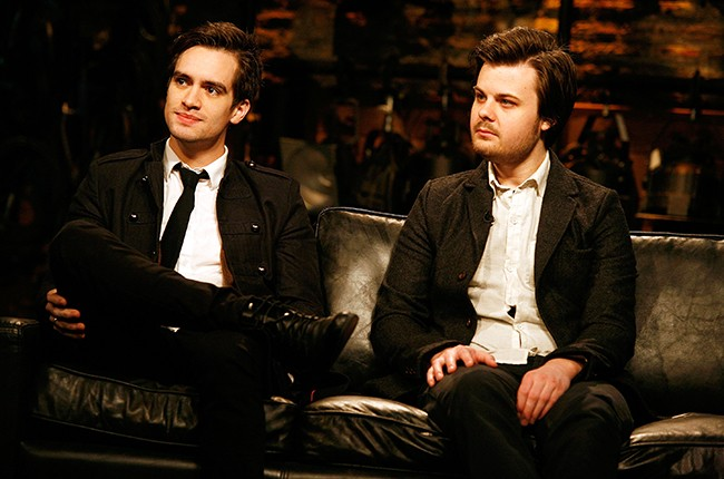Brendon Urie and Spencer Smith of Panic! At The Disco