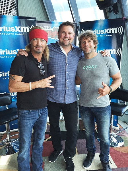 Bret Michaels and Billy Currington