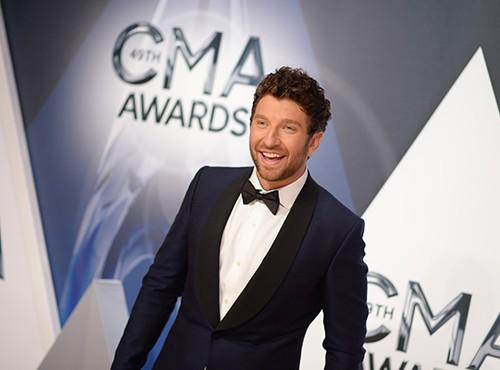 Brett Eldredge attends the 49th annual CMA Awards