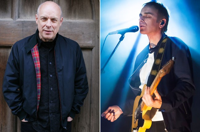 Brian Eno and Karl Hyde to work together
