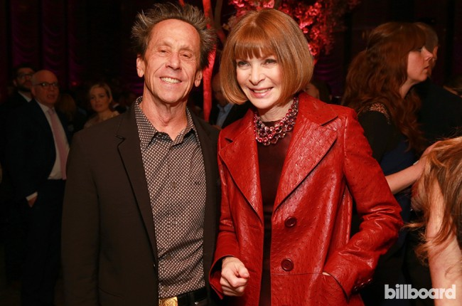 Brian Grazer, left, and Anna Wintour attend The 35 Most Powerful People in Media hosted by The Hollywood Reporter