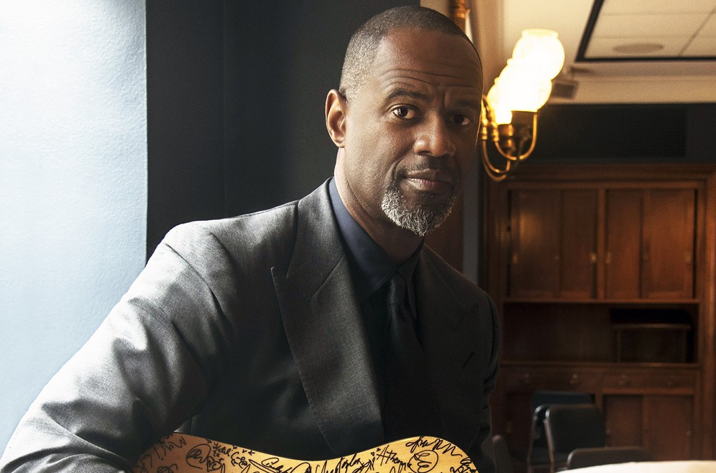 Brian McKnight photographed in 2016