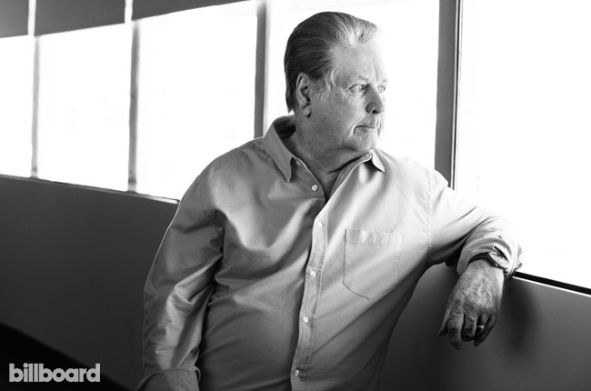 Brian Wilson photographed March 3, 2015 at Capitol Records in Los Angeles.