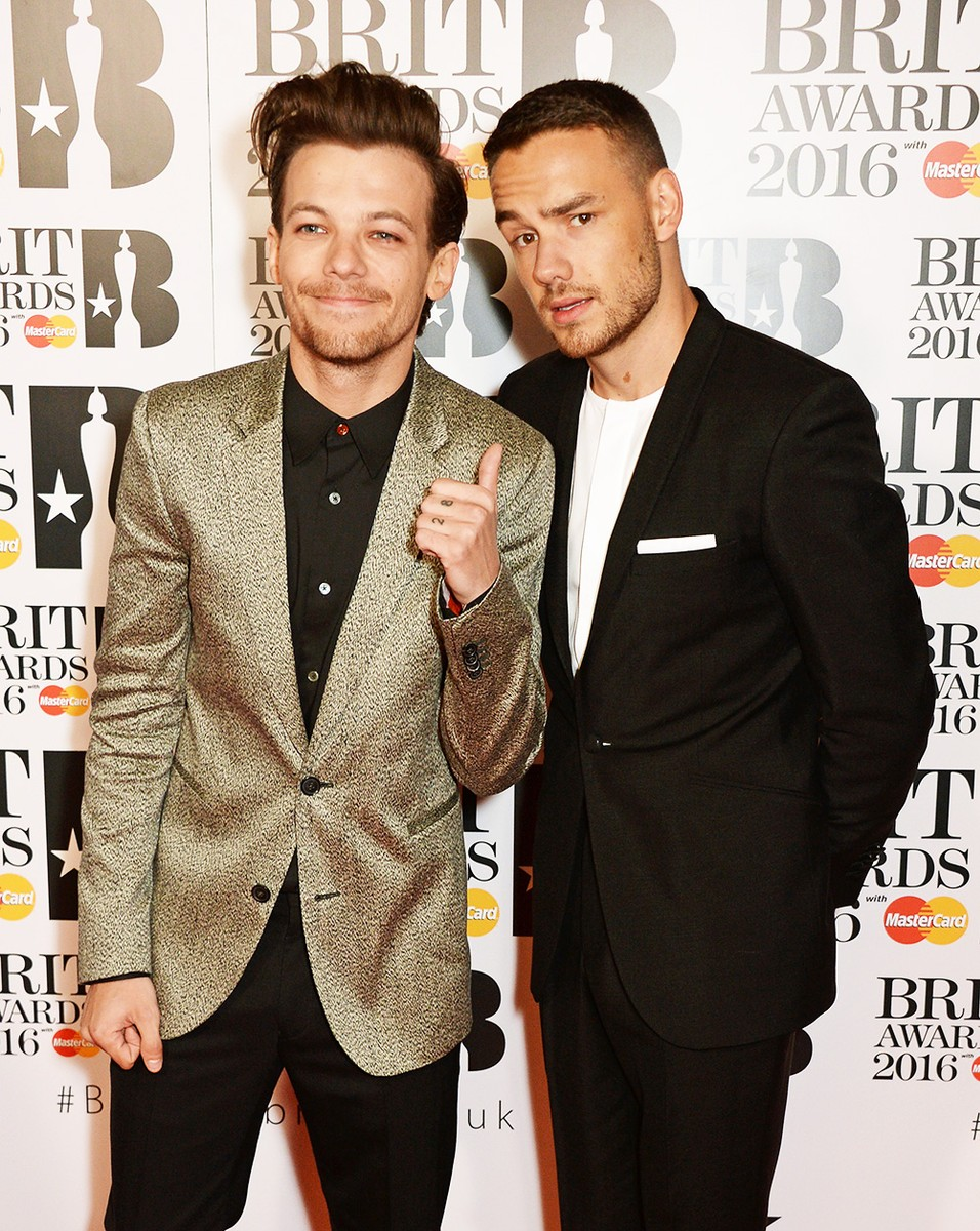 Louis Tomlinson and Liam Payneof One Direction