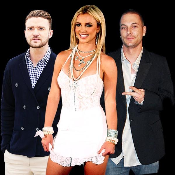Britney Spears Relationship Timeline featuring Justin Timberlake and Ex-Husband Kevin Federline