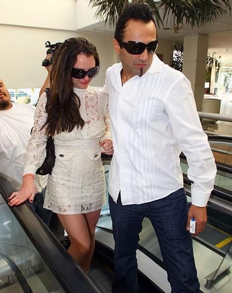 Britney Spears and Adnan Ghalib, 2008.